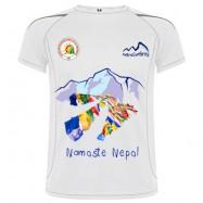 camiseta colaboración Nepal