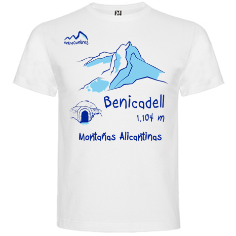camiseta montaña Benicadell