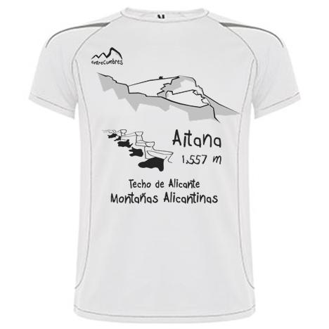 camiseta montaña Aitana