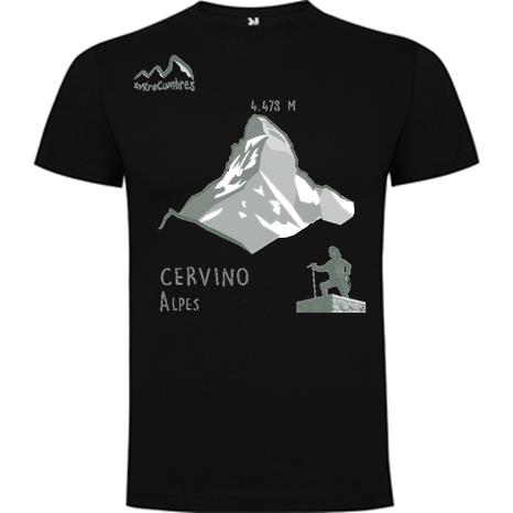 camiseta montaña Cervino