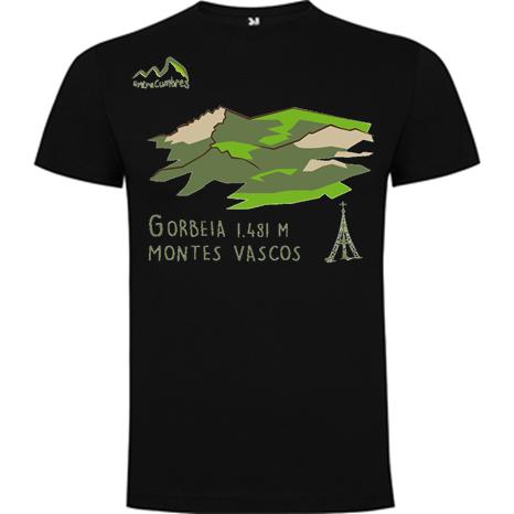 camiseta Gorbeia