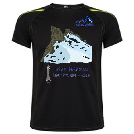 camiseta Gran Paradiso