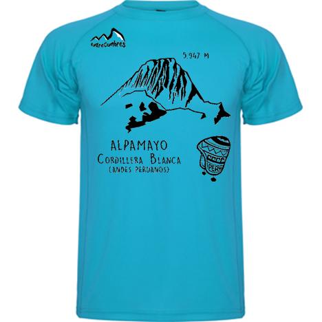camiseta alpamayo